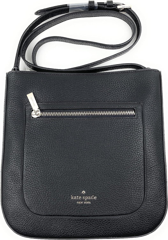 Kate Spade New York Leila Pebbled Leather Shoulder/Top Zip Crossbody Bag