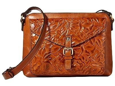 Patricia Nash Avellino Crossbody (Gold) Cross Body Handbags