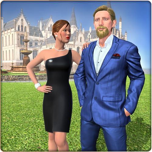 bilionário pai vida de luxo jogos de família virtual