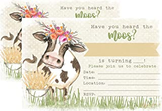 Best cow invitations for birthday Reviews