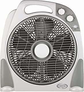 ARGO 398200015 Ventilador, 50 W, 240 V, Blanco y Gris, 30 cm