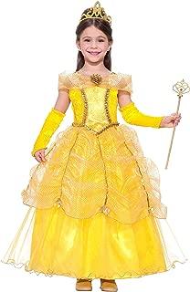 Golden Princess Kids Costume