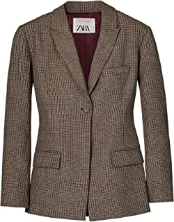 Zara Women Check Blazer 8336/700