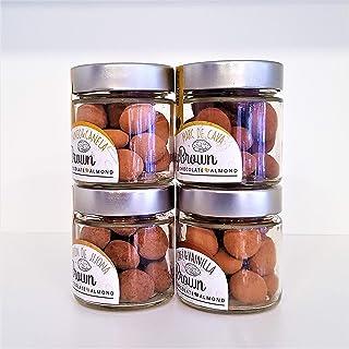 Jimmy Brown Almendras recubiertas con chocolate - Pack de 4 sabores x 125g