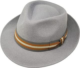 Lodenhut Manufaktur Cappello Tirolese Edelwei/ßManufaktur in Lana Feltro di da camminatore