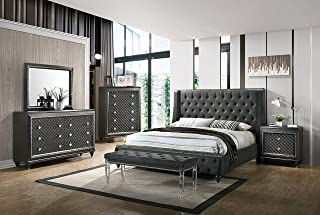 Amazon Com Bedroom Sets Grey Bedroom Sets Bedroom Furniture Home Kitchen