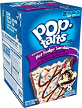 Pop-Tarts BreakfastToaster Pastries, Frosted Hot Fudge Sundae Flavored, 13.5 oz (8 Count)