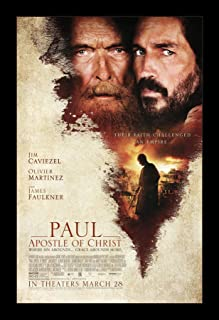 Paul Apostle of Christ - 11x17 Framed Movie Poster by Wallspace