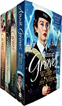 Annie Groves Empire Street Series 4 Books Collection Set (Child of the Mersey, Christmas on the Mersey, The Mersey Daughter, Winter on the Mersey)