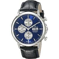 Edox Men's BUIN Les Bemonts Analog Display Swiss Automatic Black Watch
