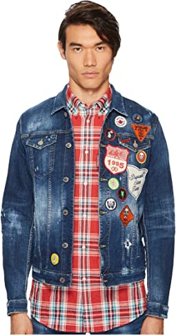 DSQUARED2 - Patchwork Denim Jacket