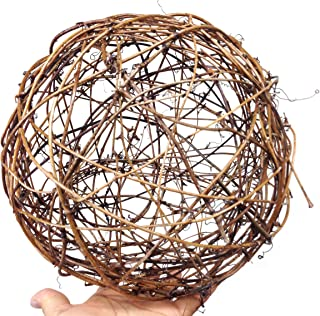 PEPPERLONELY 1PC Natural Grapevine Ball, 10 Inch