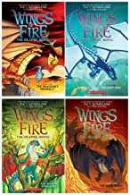 Wings of Fire Graphic Novel 4 Books Collection: 1. The Dragonet Prophecy, 2. The Lost Heir 3, . The Hidden Kingdom, 4. The...