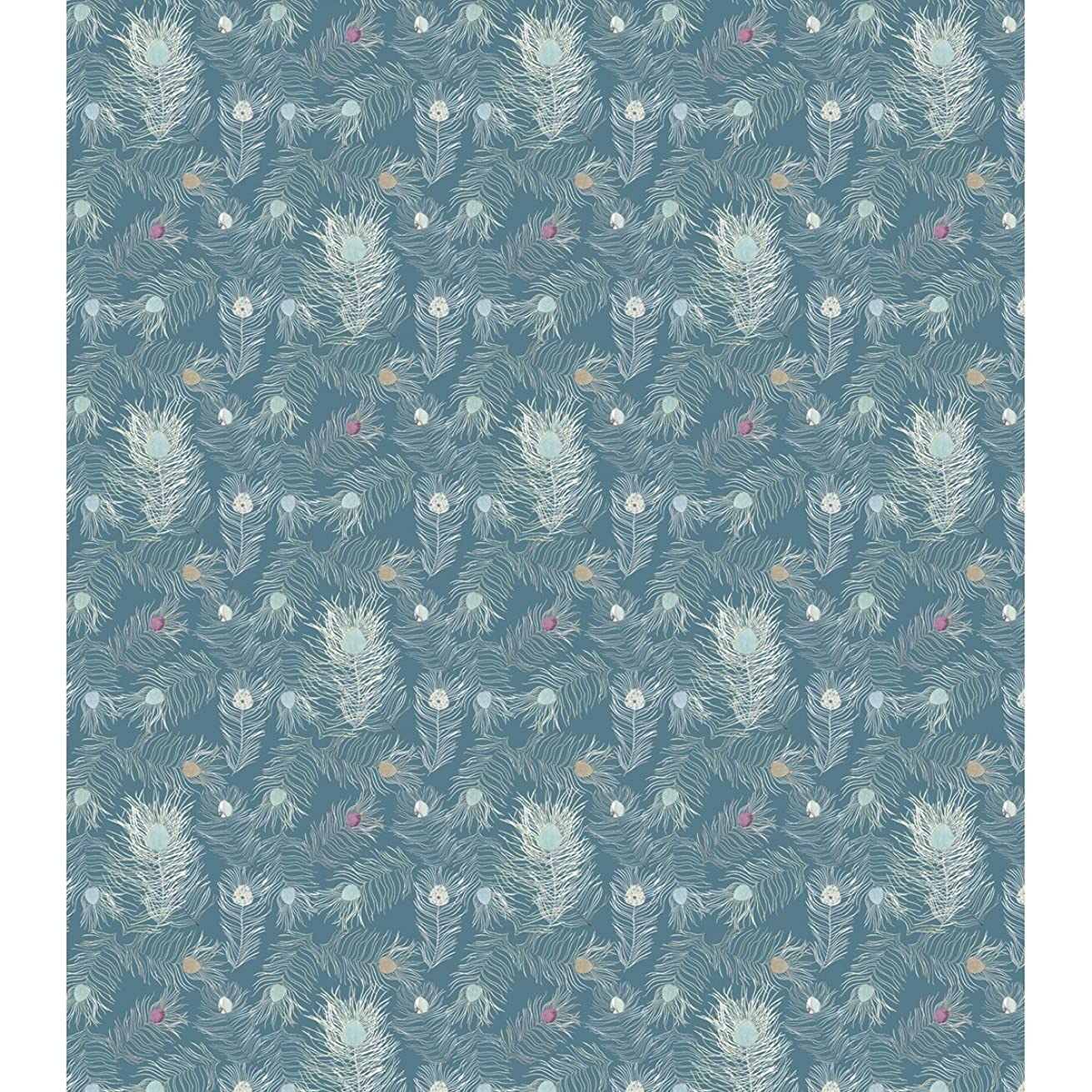 Craft Consortium Decoupage Papers (3 Pack), 13.75 x 15.75, Peacock Blue