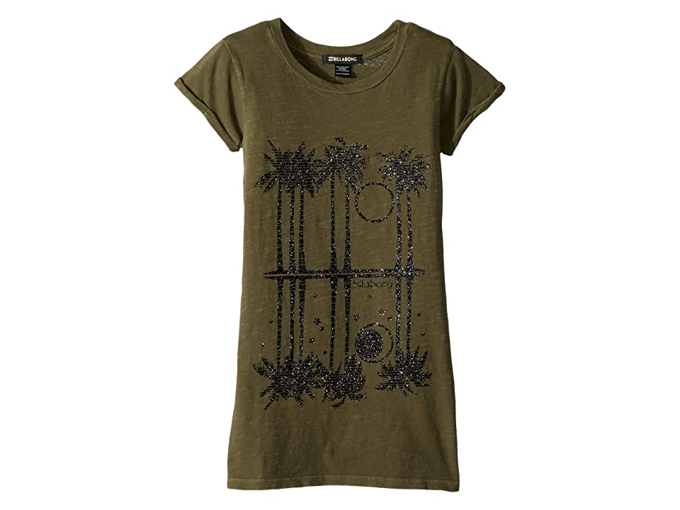 Billabong Kids Last Quarter T-shirt Dress (Little Kids/Big Kids) (Seagrass) Girl