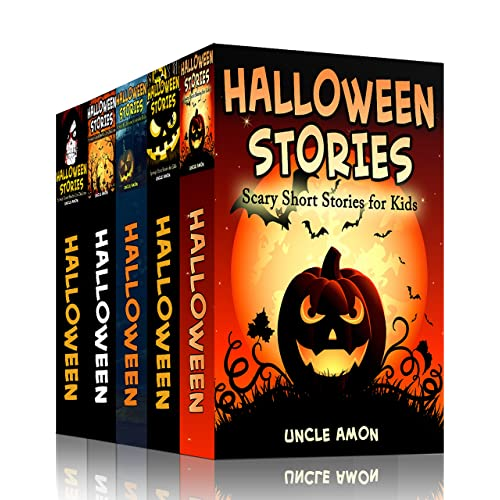 HALLOWEEN STORIES BUNDLE (5 Books in 1): Scary Halloween Stories for Kids, Jokes, Puzzles, and More! (Halloween Collection)