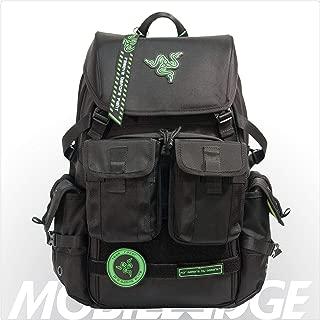 Mobile Edge Black Razer Tactical ゲーミングバックパック Model RAZERBP17
