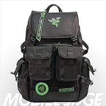 Mobile Edge Razer Tactical Pro 17 Inch Laptop Gaming Backpack, Black, Rugged Ballistic..