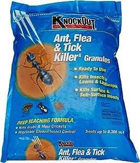 Knock Out 342031.0 Ant, Flea & Tick Killer Granules 10lb, 10 lb, Brown/A