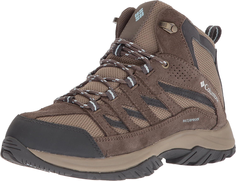 Columbia Womens Women's Crestwood Mid Waterproof Hiking Boot