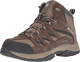 Columbia Women's Crestwood Mid Waterproof Hiking Boot, Breathable