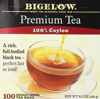 Bigelow Premium Tea 100% Ceylon 100 Tea Bags 8oz