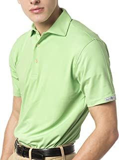 Charleston Green Mens Polo Shirt - Made from 20 Recycled Plastic Bottles