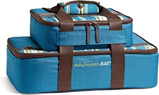 Rachael Ray Lasagna Lugger Combo Set, Insulated Carriers for 9