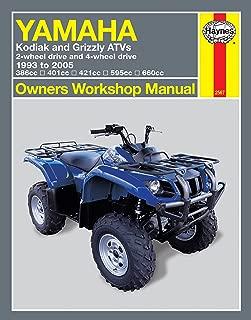 Best yamaha grizzly 700 repair manual Reviews