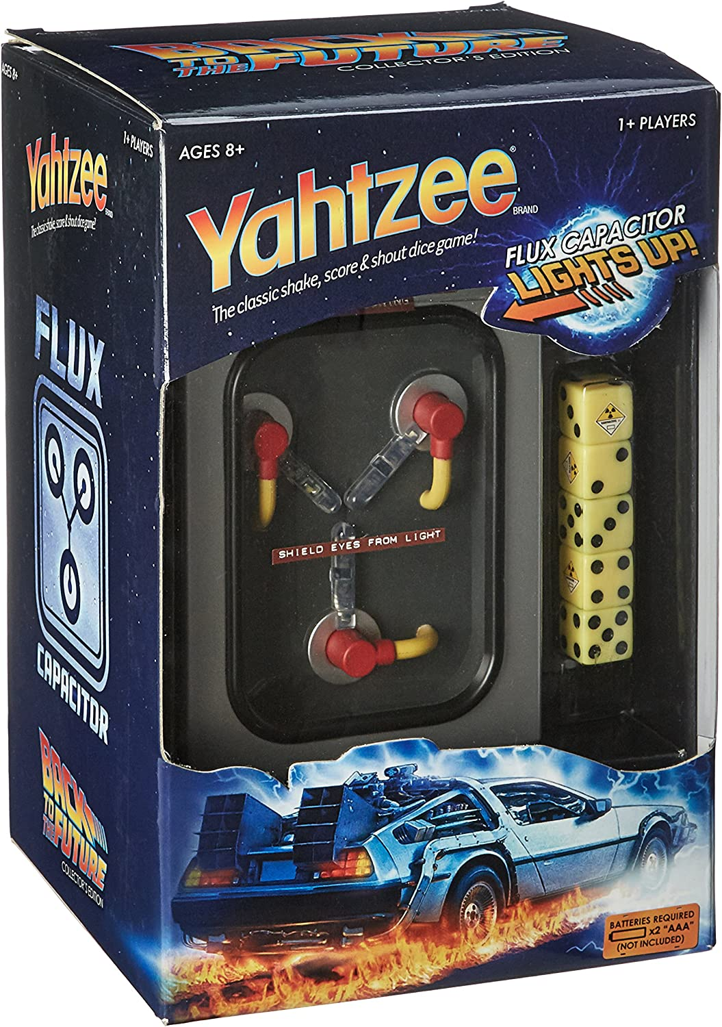Yahtzee  Back to The Future Collector's Edition
