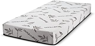 Customize Bed 8 Inch Gel Memory Foam Mattress with Bamboo Cover, Cot Size 30x74 for RV, Cot, Folding, Guest & Day Bed- CertiPUR-US Certified