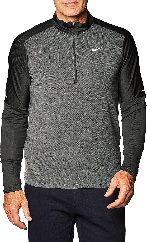 Nike Men's Dri-FIT Element Running Half Free shipping New Top cheap Zip