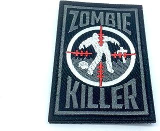 Zombie Killer bordado Airsoft Paintball parche