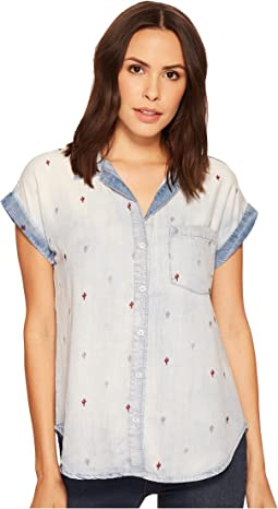 Stetson - Tencel Short Sleeve Blouse