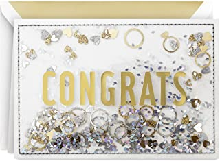 Hallmark Signature Congratulations Engagement Card (Congrats Confetti)