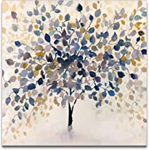 WEXFORD HOME Past Autumn Canvas Prints Wrapped Gallery Wall Art   Stretched and Framed Ready to Hang, 24x 24,