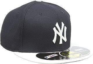 MLB New York Yankees Batting Practice 59Fifty Baseball Cap, Navy/White