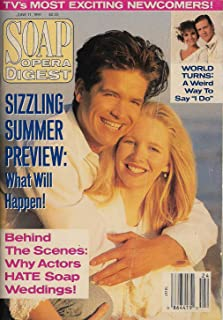 Michael Damian, Lauralee Bell, Young and the Restless, Robert Mailhouse, TV's Most Exciting Newcomers - June 11, 1991 Soap Opera Digest Magazine
