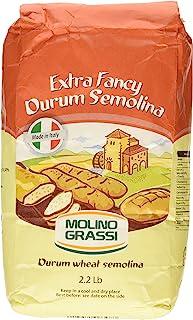 Molino Grassi Extra Fancy Durum Wheat Semolina Flour, 2.2 lbs