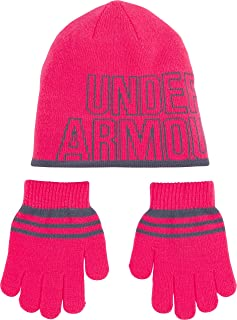 Girls' Little Knit Beanie and Glove Combo