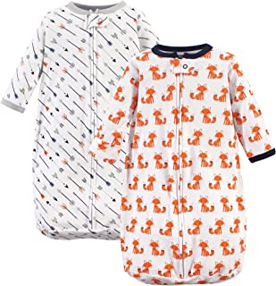 Hudson Baby Unisex Baby Long Sleeve Wearable Sleeping Bag/Blanket