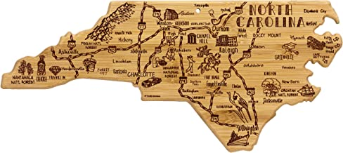 Totally Bamboo North Carolina State Destination Bamboo Serving and Cutting Board
