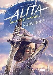Battle Angel 3 Movie Poster Canvas Picture Art Print Premium A0 A4 Alita