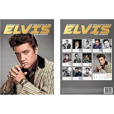 Elvis Fridge Magnet Elvis Presley Fans Cant Be Wrong Record Collectors Official Calendar 2021