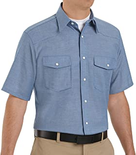 Red Kap Men's DeluxeWestern Style Shirt