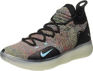 Nike Men's Zoom KD 11 Basketball Shoes (11.5, Black/Blue)
