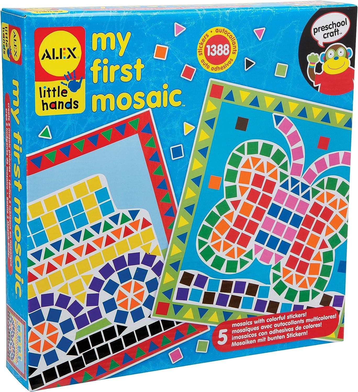 Alex 52614140 - Erste Mosaikbilder Mosaikbilder Mosaikbilder Little Hands Bastelspass B001UHEKH6 | Spielzeugwelt, fröhlicher Ozean  4397b3