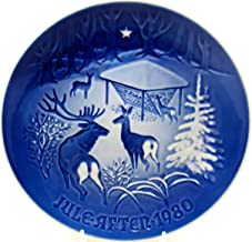 Jule-After B&G Grantraeet Collector Plate, Denmark, H.C. Anderson (1980 Christmas in The Woods)