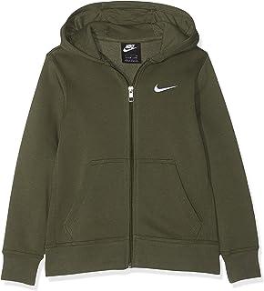 c6d8410e0dca3f Nike Hoodie Ya76 Brushed Fleece Full-Zip, Felpa con Cappuccio Bambino