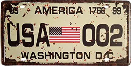 PixDecor Graboids License Plates for Car Decoration 6 Inch X 12 Inch Retro Metal Vintage Sign